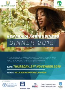THE KENARAVA AGRIBUSINESS DINNER 2019 @ The Villa Rosa Kempinski, Nairobi
